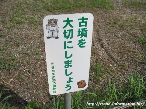 世界遺産を目指している行田市の「さきたま古墳群」