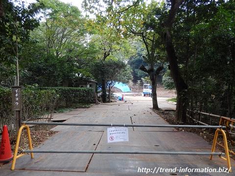 建功寺の立て直し工事中の本堂【横浜市・観光】