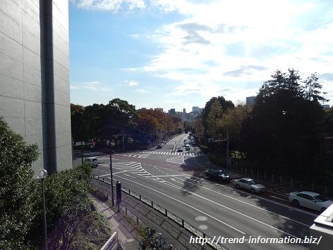 乃木坂駅周辺の交差点